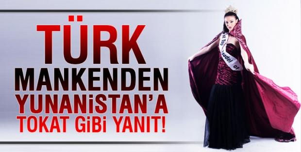 Geçtiğimiz hafta İstanbul'da Tarkan Acar Başkanlığında yapılan Top Model Of Turkey yarışmasında birinci olan çiçeği burnunda top model- manken Merve Akkanat, ülkemize karşı tutumundan dolayı Yunanistan'dan aldığı mankenlik ve modellik teklifini reddetti.