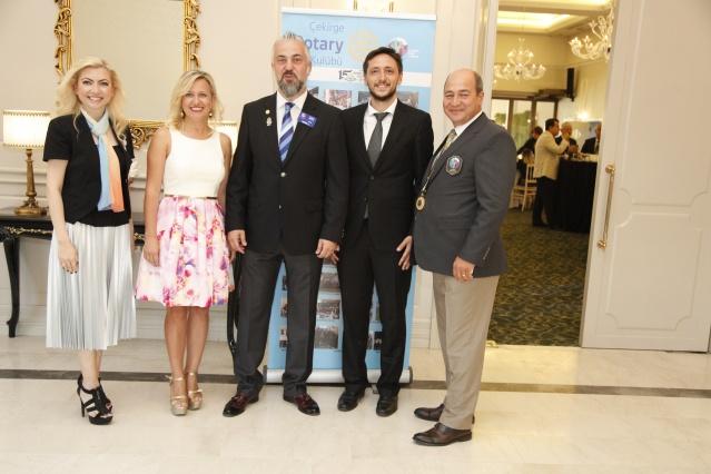 Çekirge Rotary Kulübü yönetim kurulu