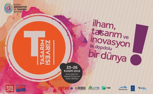 25-26 Kasım Bursa'da Tasarım Zamanı