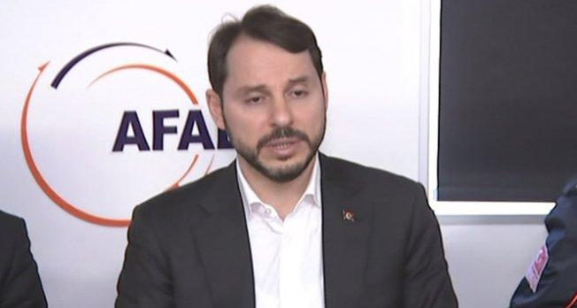 Bakan Albayrak: 'Çalışmalar hassasiyetle sürüyor'