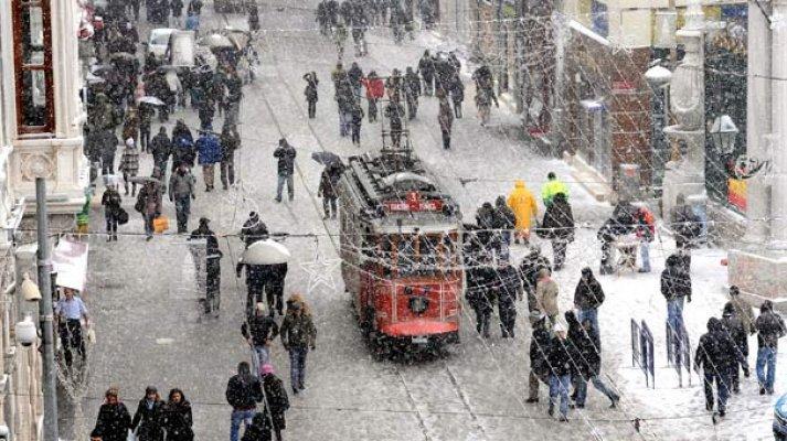 Dikkat! İstanbul'a ilk kar geliyor