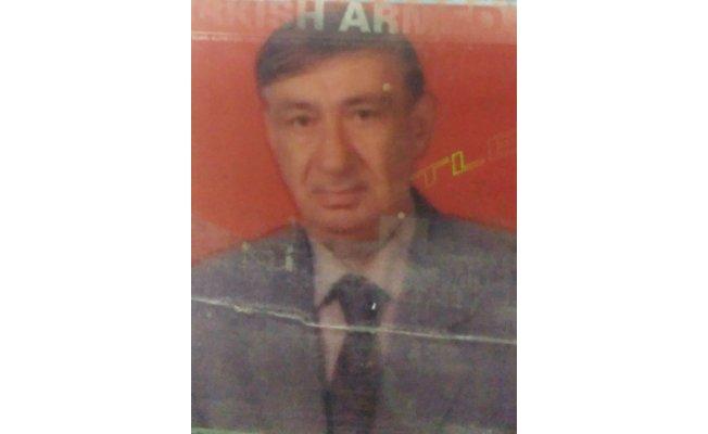 Emekli astsubay hayatını kaybetti
