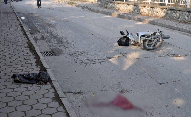 Forkliftle çarpışan genç ağır yaralandı!