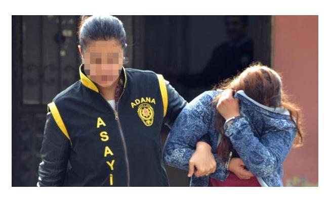 Fuhuştan yakalanan kadın ağlaya ağlaya cezaevine gitti