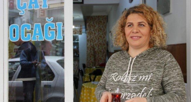 Kadın işletmeciden 'WhatsApp çay isteme hattı'