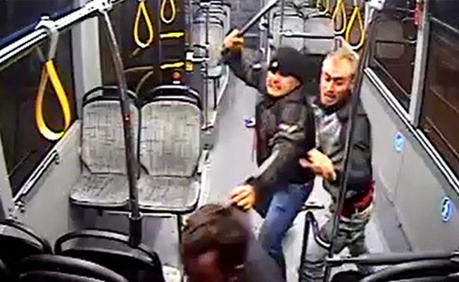Otobüse binemediği için saldırmış!