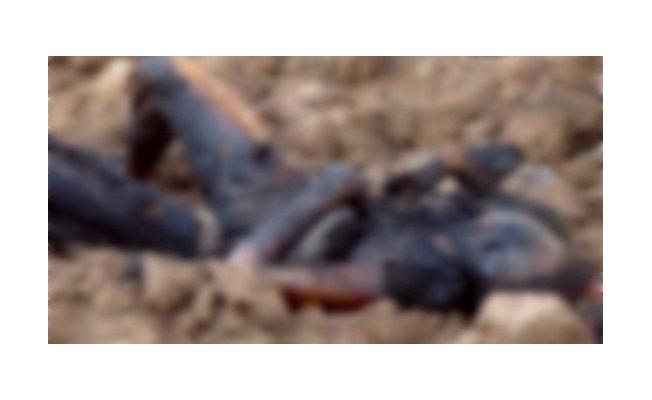 Otomobilde  yanmış erkek ceseti  bulundu!