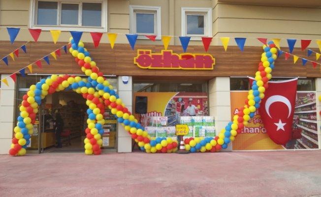 Özhan Marketler Zinciri'ne 39. Şube 'Denizciler'