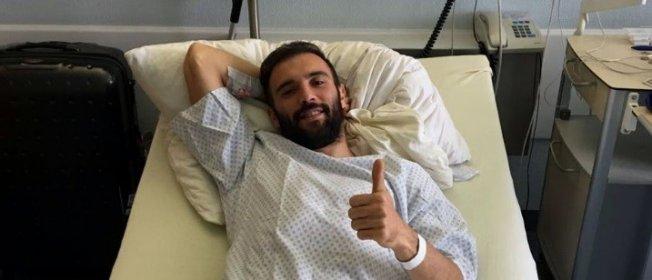Serdar Kurtuluş Almanya'da ameliyat oldu!