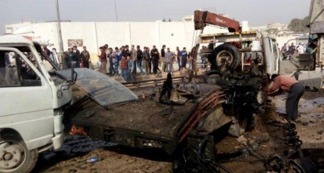 Suriye'de bombalı araçla saldırı!
