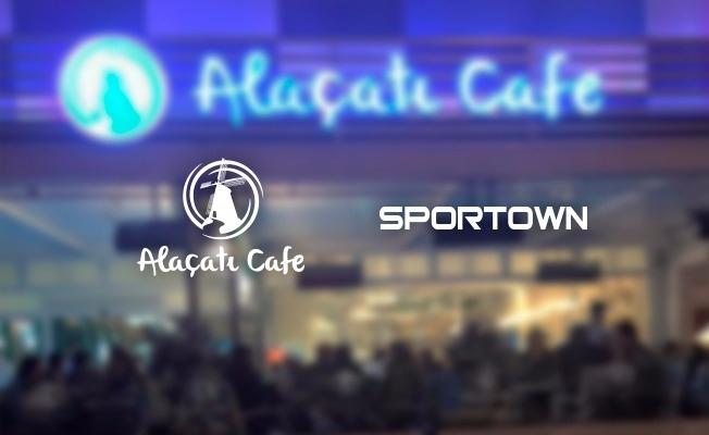 Alaçatı Cafe Özlüce'den spora tam destek!