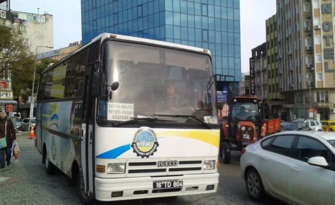 Bursa'da ücretsiz seferler başladı!