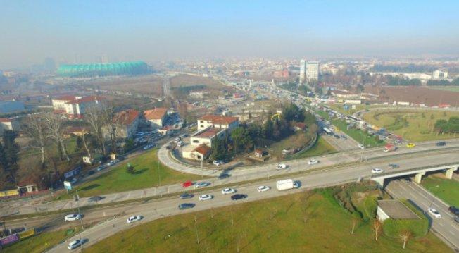 Bursa'da Acemler Kavşağı'nda sona geliniyor!