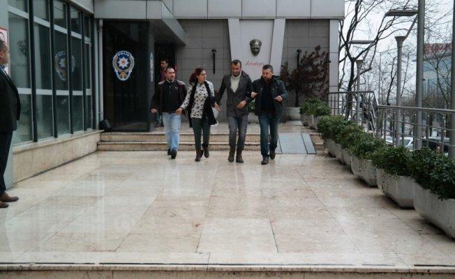 Bursa'da 'kar yankesicileri' yakalandı!