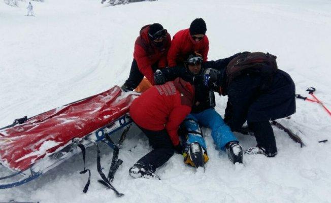 Bursa'da kayak yaparken...