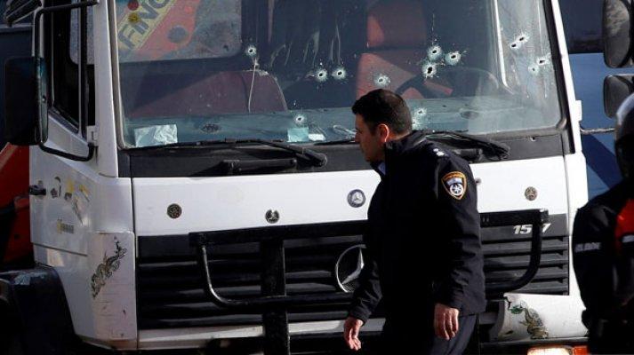 Kamyon kalabalığın arasına girdi! 4 İsrail askeri öldü