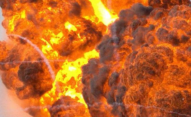 Kocaeli'de fabrikada patlama! 1 ölü!
