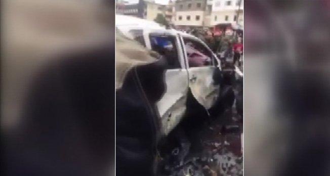 Lazkiye'de bomba yüklü araçla saldırı: 9 ölü