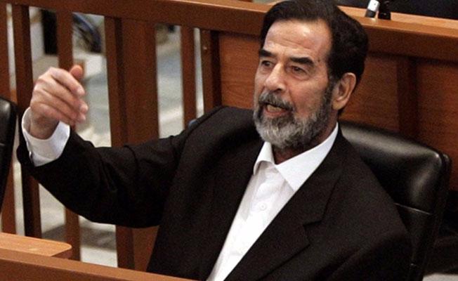 Yıllar sonra gelen 'Saddam' itirafı
