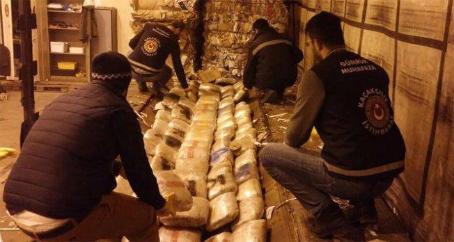 6 milyon TL değerinde uyuşturucu ele geçirildi!