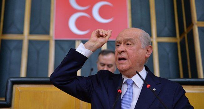 Bahçeli: Siz Rusya'ysanız biz de Türkiye'yiz