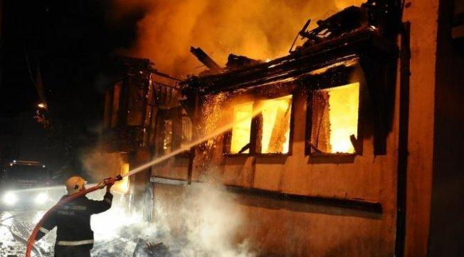 Bursa'daki yangın korkuttu!