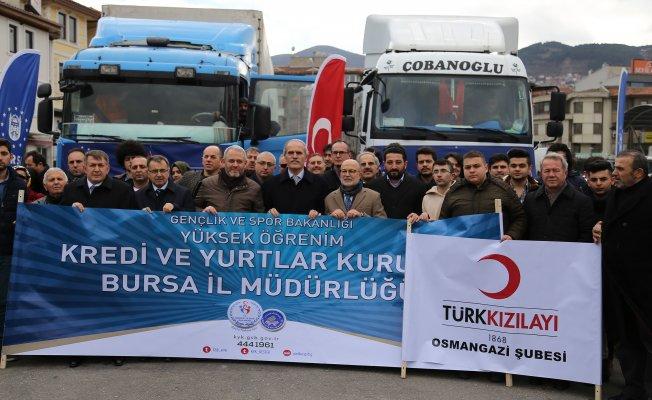 Bursa'dan Halep'e yardımlar sürüyor