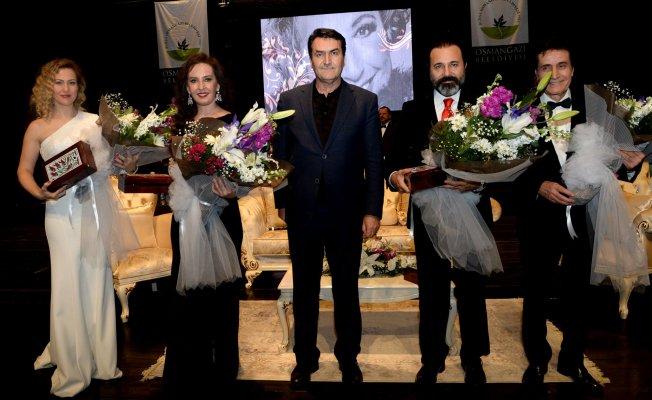 Osmangazi Belediyesi Müzeyyen Senar'ı anma konseri düzenledi