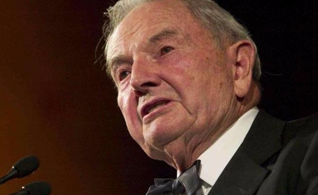 Milyarder iş adamı David Rockefeller hayatını kaybetti!
