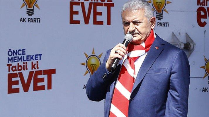 Başbakan Binali Yıldırım'dan CHP'ye çok sert sözler