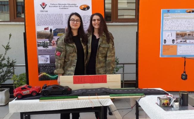 Asker kızlarından gurur duyulacak proje