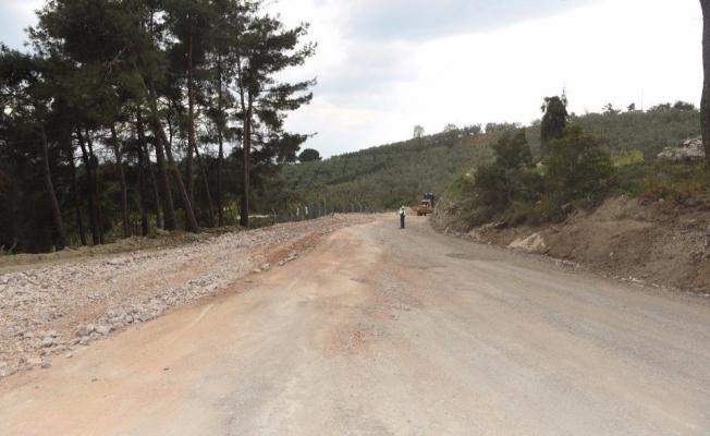 Bursa Gündoğdu yolu gün sayıyor