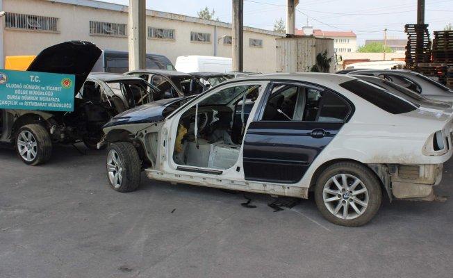 Bursa'da lüks araç kaçakçılarına operasyon!