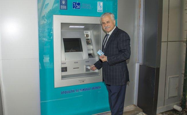 BUSKİ'den su faturası ATM'si