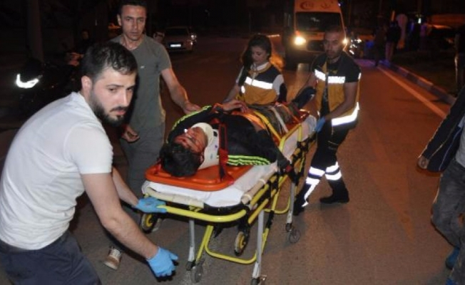 Bursa'da 2 Suriyeli kazada yaralandı!