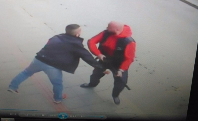 Bursa'daki cinayet anı güvenlik kamerasında