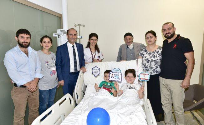 Bursa'da çocukların sünnet heyecanı