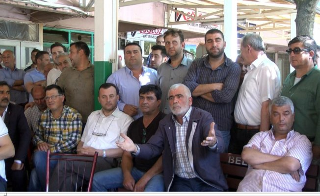 Bursa'da köylülerden topyekun tepki! Dinlemediler...