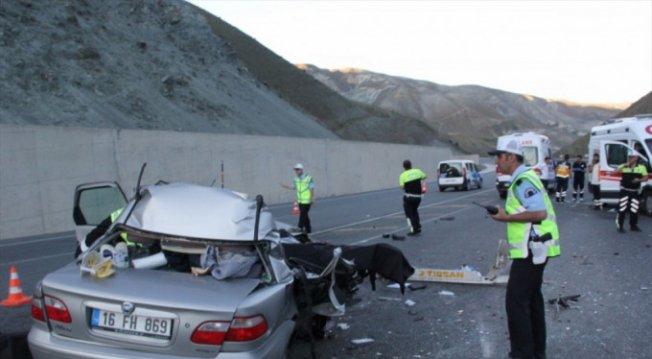 Bursalı aile korkunç kazada can verdi!