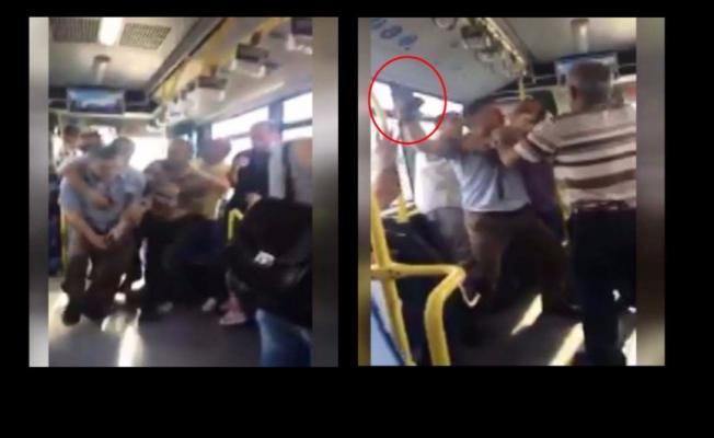 Metrobüste korku dolu dakikalar! Yolcu şoföre silah çekti