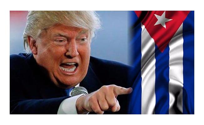 Trump'tan şok Küba kararı!