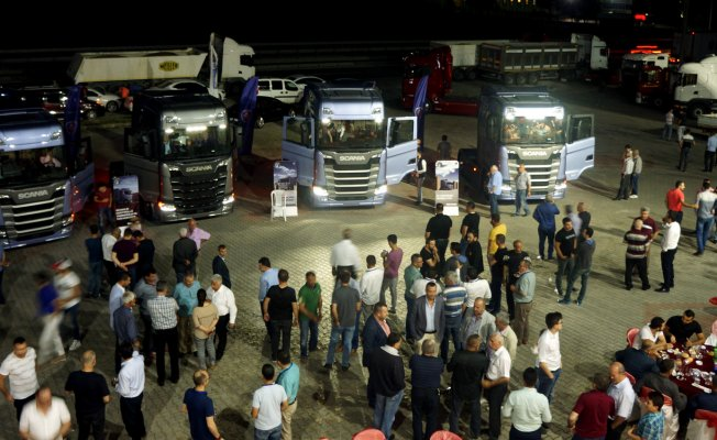Yeni Nesil Scania Bursa'da
