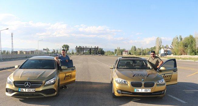 225 bin liralık araçla taksi hizmeti