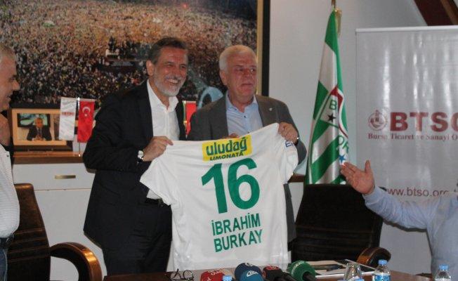 BTSO'dan Bursaspor'a 20 bin kombine desteği