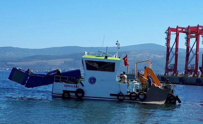 Bursa'da çevreyi kirleten o gemi hakkında flaş gelişme