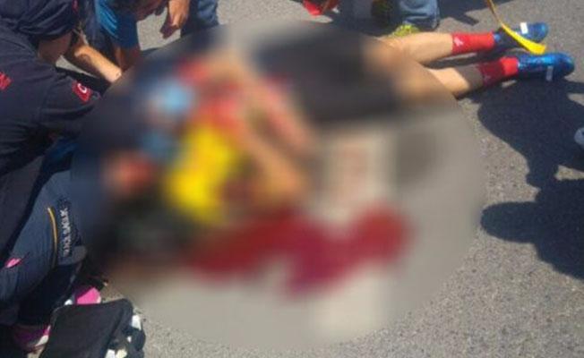 Bursa'da bisiklet sürücüsü ölümden döndü!