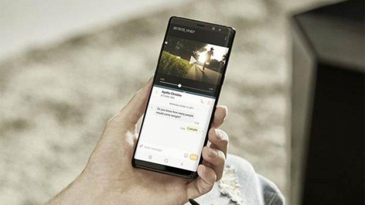 Samsung yeni amiral gemisi Galaxy Note 8'i tanıttı