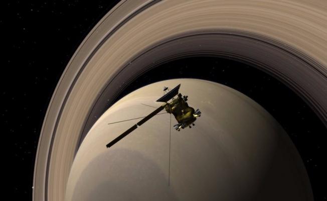 13 yıllık görevden sonra Satürn'e intihar dalışı!
