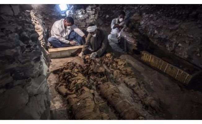 3500 yıllık kuyumcu mezarı keşfedildi!