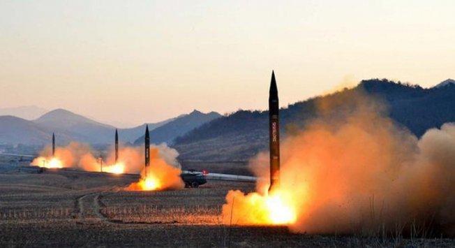 Kuzey Kore yine füze fırlattı